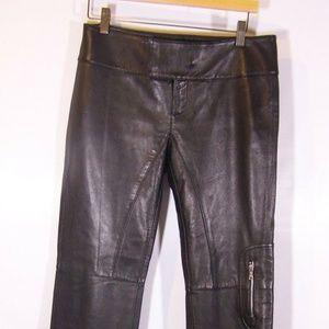 Laundry Sheli Segal Leather Pants
